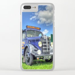 Bedford Dropside Tipper Clear iPhone Case
