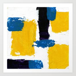 Abstract Expression #2 by Michael Moffa Art Print