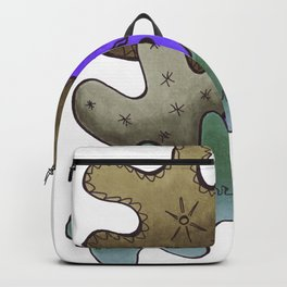 Relaxing Ornamental Spirits. Meditative iFi Art. Stress and Pain Free with MYT3H. Nature. Earth. Backpack