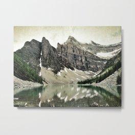 Lake Agnes, Banff Metal Print