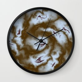Turbulence in Antique Wall Clock