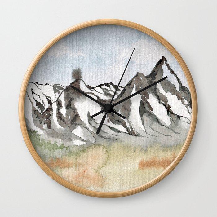 Rocky Mountain High Wall Clock