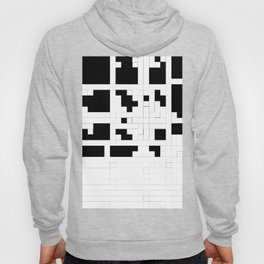 Monochrome Pixels Hoody