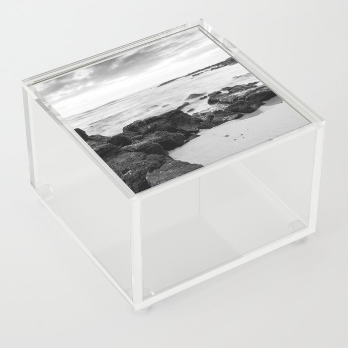 Dramatic coastline at Poipu beach in Kauai, Hawaii Acrylic Box