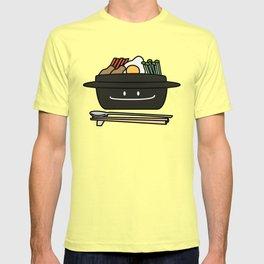 Bibimbap Korean rice bowl namul vegetables egg T-shirt
