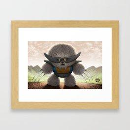 Flufferine Framed Art Print