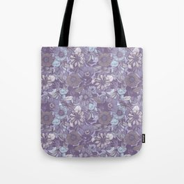 Hellebore lineart florals | soft winter Tote Bag