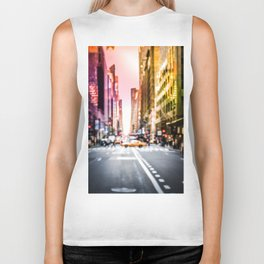 Big Apple Dream in the New York City Downtown Manhattan Biker Tank