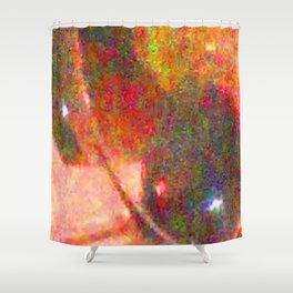 CHRISTMAS SPARKLE 1 Shower Curtain