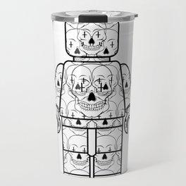Skull-Brick Travel Mug