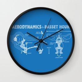 The Aerodynamics of a Basset Hound Wall Clock