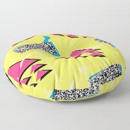 Fashion Patterns Rad, Bad and Glad Floor Pillow
