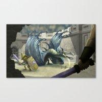 gladiator Canvas Prints featuring Gladiator by Ken Rolston