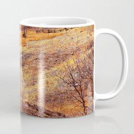 Valley in orange Coffee Mug