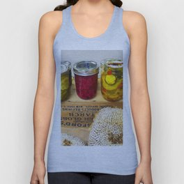 Pickles at the Fair Unisex Tank Top