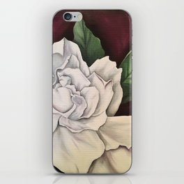 White Gardenia iPhone Skin
