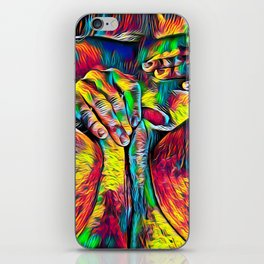 4281s-RES Abstract Pop Color Erotica Pleasuring Psychedelic Yoni Self Love iPhone Skin