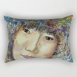 Expression 451 Rectangular Pillow