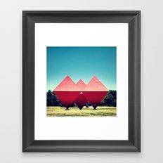 Synchronicity Framed Art Print