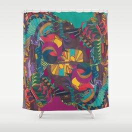 Muisca Shower Curtain