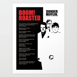 The Office Poster - Boom Roasted Art Print
