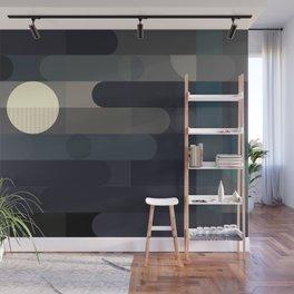 Lunar Elements Wall Mural