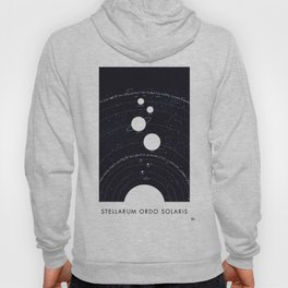 Stellarum Ordo Solaris: A map of our Solar system Hoody