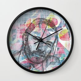 Thom Yorke - We Suck Young Blood Wall Clock
