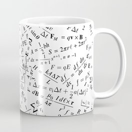 Equation Overload II Coffee Mug