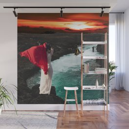 Woman with Drape Wall Mural