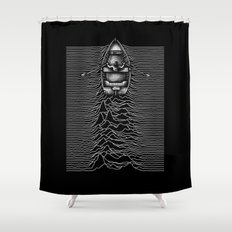 Unknown Waters Shower Curtain