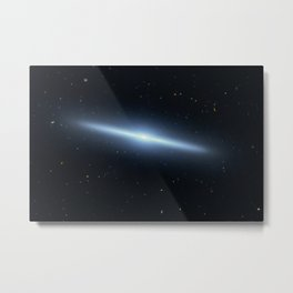Space galaxy Edgee. Metal Print