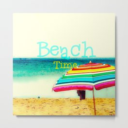 Beach time #3 Metal Print