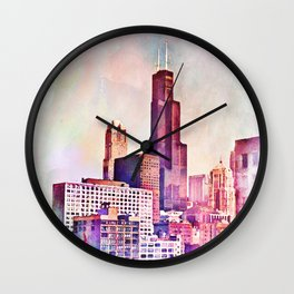 My Kind of Town Wall Clock
