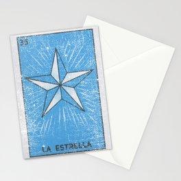 La Estrella Mexican Loteria Bingo Card Stationery Cards