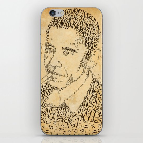 barac obama in the font of times iPhone & iPod Skin