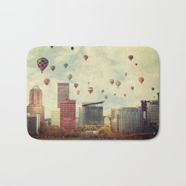 Portland Oregon Whimsy Bath Mat