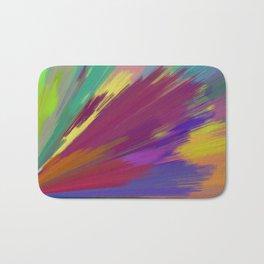 color wheel 01 Bath Mat