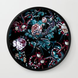 Dangers in the Forest III-II Wall Clock