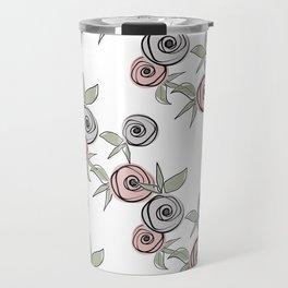 Retro roses. Travel Mug