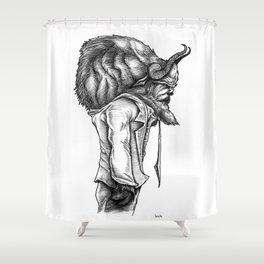 The Buffalo Shower Curtain