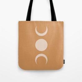 Moon Minimalism - Desert Sand Tote Bag