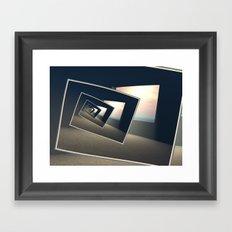 Surreal Windows Framed Art Print