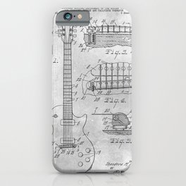 Stringed electric guitar iPhone Case