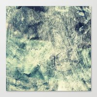 grunge Canvas Prints featuring Grunge by Amanda Roof