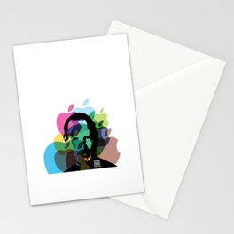 Lab No. 4 - Steve Jobs Inspirational Typography Print Poster Stationery Cards