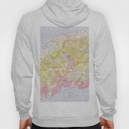 Dennis and Yarmouth Massachusetts Map (1974) Hoody