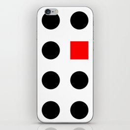 Must Fit In (Square) iPhone Skin