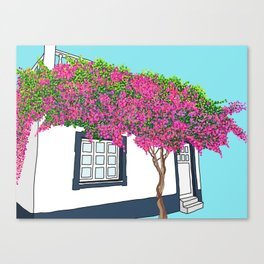 Little house in Portugal Canvas Print