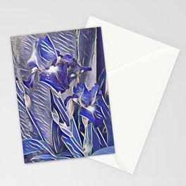 Blue Iris  Stationery Cards